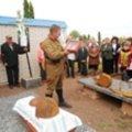 В Попільнянському районі перепоховали останки воїна, який загинув у 1941 році