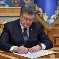 Порошенко подписал закон о госзакупках