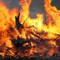 В Житомирской области в результате пожара женщина отравилась продуктами горения