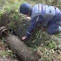 У Коростишеві чоловік викопав із піску 50-кілограмову фугасну бомбу