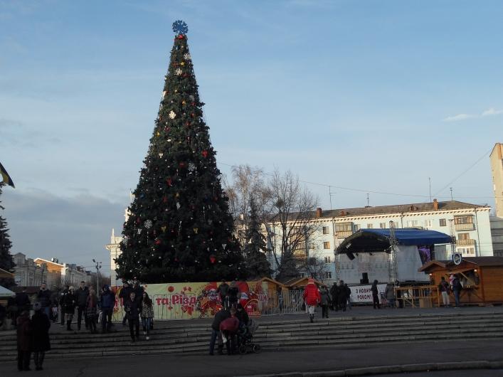 Як у Житомирі святкуватимуть Новий рік та Різдво?