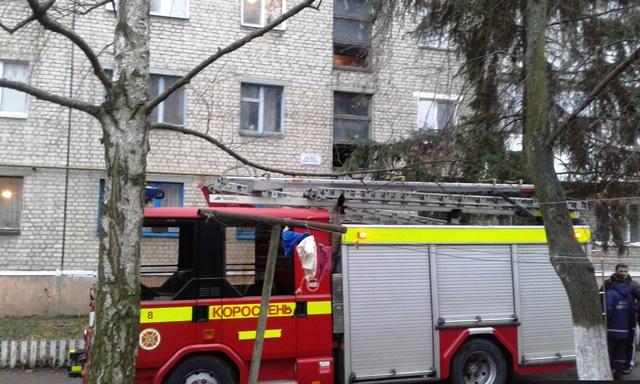 Через коротке замкнення в резетці мало не згоріла квартира в Коростені