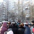 Мешканці будинків на Жукова проти будівництва багатоповерхівки у їхньому дворі. ФОТО