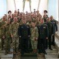 Курсанты Житомирского военного института получили награды от Министра обороны Украины