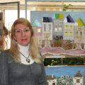 Луганська майстриня Ірина Руденко представляє у Житомирі виставку своїх робіт