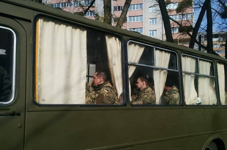 Кілька десятків бійців 95-ї бригади повернулися до Житомира
