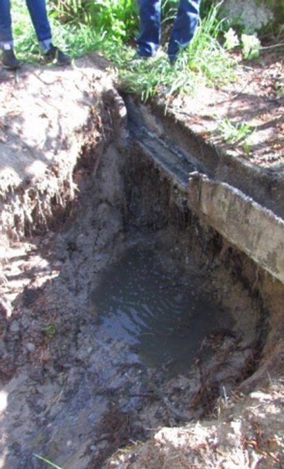 На забрудненій річці в Житомирській області невідомі пошкодили очисні споруди