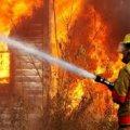 В Романівському районі під час пожежі в оселі виявлено тіло жінки