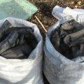 В Житомирській області селяни скаржаться на підприємця, який випалює деревне вугілля. ВІДЕО