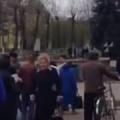 У Коростені чорнобильці на 15 хвилин перекрили дорогу