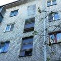 В житомирской многоэтажке во время пожара погиб мужчина