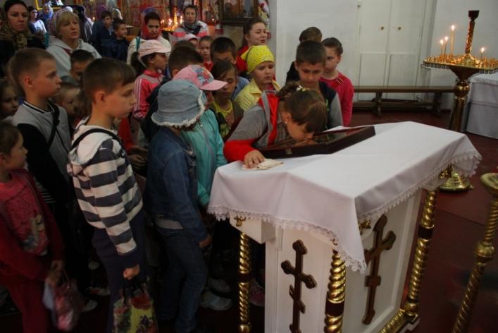 У недільній школі Свято-Михайлівського собору навчальний рік завершився Днем здоров'я