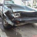 Вранці в центрі Житомира зіштовхнулись «Таврія» та Nissan, водії дві години оформлювали європротокол