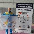 Житомирські гирьовики вибороли дві срібні медалі на чемпіонаті Європи