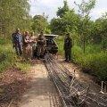 """На """"Москвичу"""" із зони відчуження 20-річні мешканці Київщини везли 300 кг металобрухту"""
