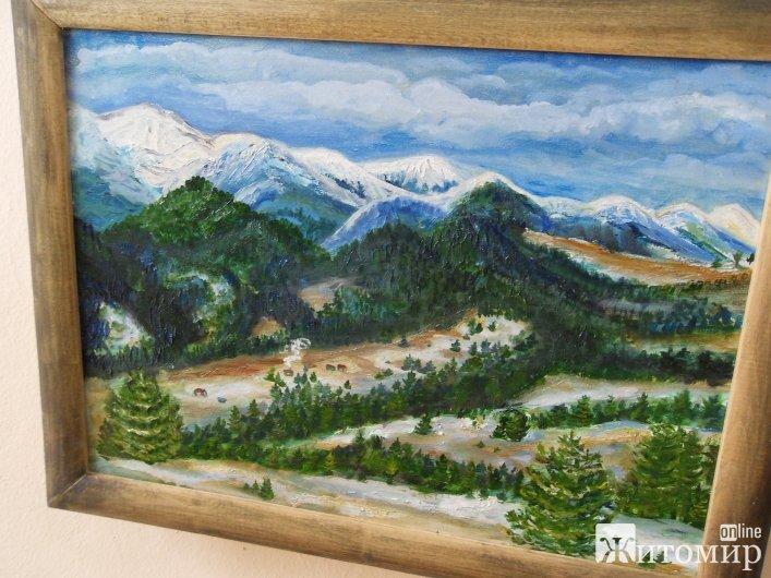 У Житомирі відкрилась виставка живопису та ікон «Від холодного до гарячого»