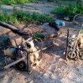 В селі на Олевщині затримали бурштинокопачів та вилучили їх обладнання
