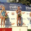 Житомирська спортсменка Юлія Єлістратова стала третьою на етапі Кубка світу з триатлону