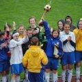 Дві дівчачі футбольні команди із Житомирщини виграли бронзові нагороди на всеукраїнських змаганнях