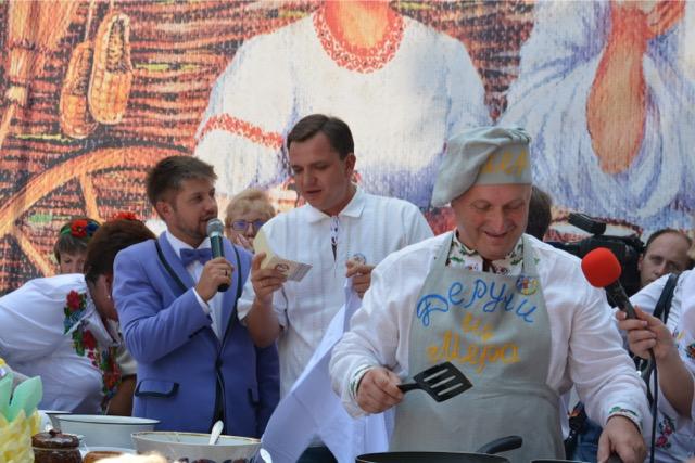 Юрій ПАВЛЕНКО: Міжнародний Фестиваль дерунів у Коростені – це прекрасна традиція, яка об'єднує українців у своїй любові до рідного краю