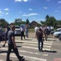 Жителі села в Житомирській області протестують проти реорганізації школи і перекрили дорогу