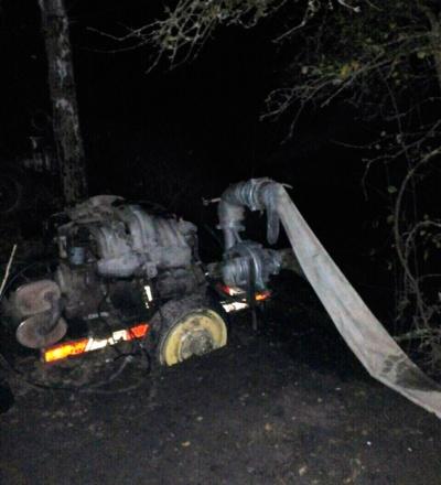 На Житомирщині поліцейські затримали нелегальних бурштиношукачів у природному заповіднику (ФОТО)
