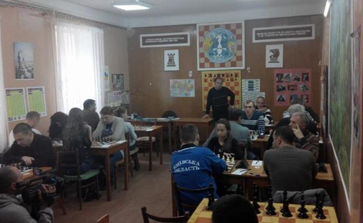У Житомирі чемпіонат із блискавичних шахів зібрав спортсменів із 7 областей