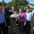 Жителька Баранівського району виграла породисте порося від газети «Субота»