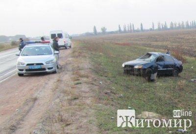 У Бердичівському районі у ДТП постраждав 20-річний водій
