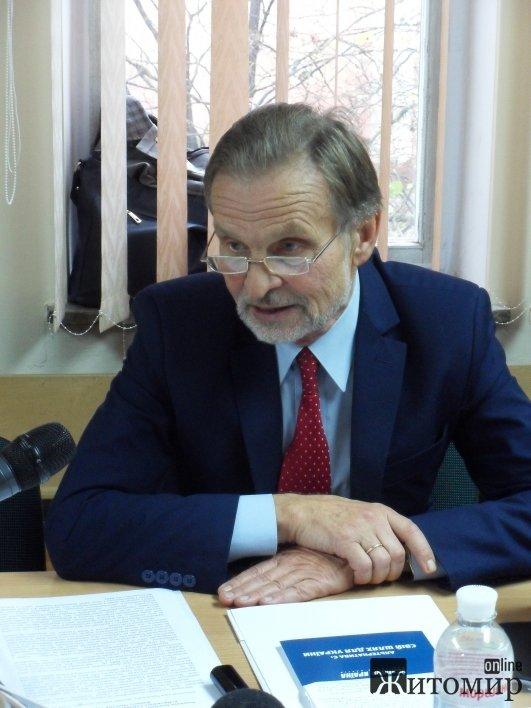 У Житомирі науковці обговорили актуальні проблеми науки та освіти і підготували звернення до влади