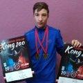 Житомирянин Микита Величко здобув перемогу на Кубку Європи з бойових мистецтв Kong Sao