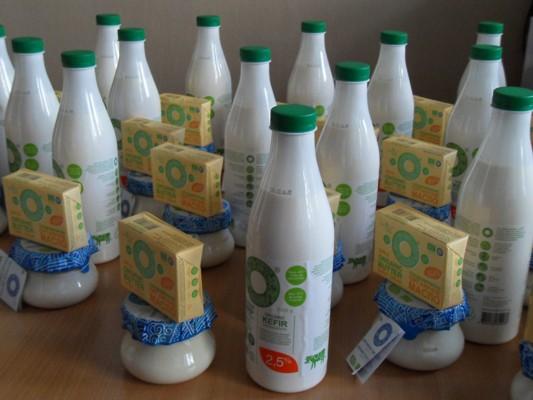 25 передплатників газети «Субота» отримали фірмові набори молочної продукції від «Органік Мілк»