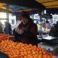 У Житомирі та області в продажу з'явилися перші грузинські мандарини.