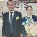 Житомирська спортсменка успішно виступила на чемпіонаті України зі стрибків на акробатичній доріжці