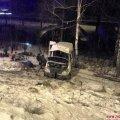 У Житомирському районі мікроавтобус з'їхав у кювет і перекинувся, одна людина загинула та 7 отримали травми
