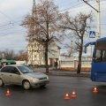 Утром в Житомире на пешеходном переходе возле завода «Лектравы» Lada сбила женщину