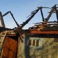 У Вересах горів хлів: селяни рятували худобу і спробували гасили пожежу самотужки