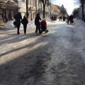 У Житомирі влада миттєво відреагувала на петицію про ковзанку під відкритим небом. ФОТО