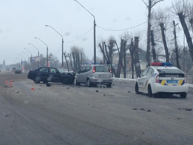 ДТП на Київському шосе у Житомирі. ФОТО