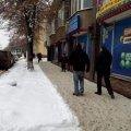 У Житомирі маркети та гральні заклади не прибирають сніг на прилеглих територіях