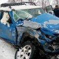 Жахлива ДТП під Житомиром: Рятувальники деблокували 2-х постраждалих з понівеченого автомобіля. ФОТО