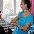 Сотрудница Коростышевского хлебозавода по собственному недосмотру получила серьезную травму
