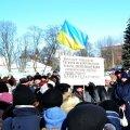 На мітингу в Білій Церкві схвалили резолюцію з вимогами до влади. ФОТО