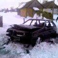 На Житомирщині 51-річний водій згорів у власній автівці на узбіччі сільської дороги