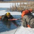 Рятувальники закликають житомирян не виходити на тонкий лід