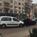 ДТП паралізувало рух від Соборної площі до вулиці Небесної Сотні. ФОТО