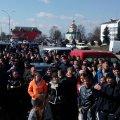 Жителі Олевська на мітингу вимагають легалізувати видобуток бурштину