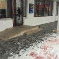 Чоловік, який кинув гранату в натовп у Олевську, втік з України