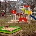 Щороку в Коростені за спонсорські кошти встановлюють до 5 дитячих майданчиків