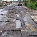 У Романові люди за власний кошт взялися ремонтувати вулицю
